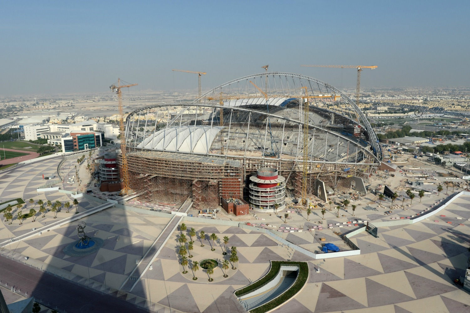 Ahead of the 2022 World Cup in Qatar, Migrant Workers